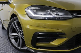 2017 Volkswagen Golf AU MY17 110 TSI Highline Tumeric Yellow 7 Speed Auto Direct Shift Hatchback.