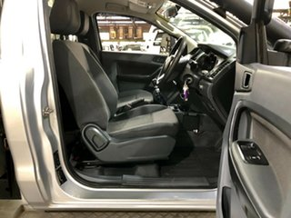 2012 Ford Ranger PX XL Silver 6 Speed Manual Cab Chassis