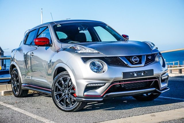 Used Nissan Juke F15 MY18 NISMO X-tronic AWD RS Christies Beach, 2018 Nissan Juke F15 MY18 NISMO X-tronic AWD RS Silver 8 Speed Constant Variable Hatchback