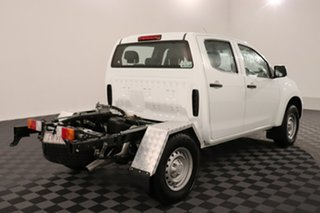 2015 Isuzu D-MAX MY15 SX Crew Cab White 5 speed Automatic Cab Chassis