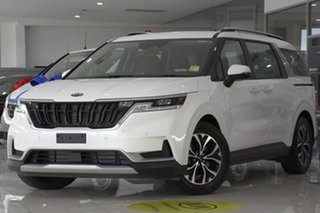 2021 Kia Carnival KA4 MY21 SI Snow White Pearl 8 Speed Sports Automatic Wagon.