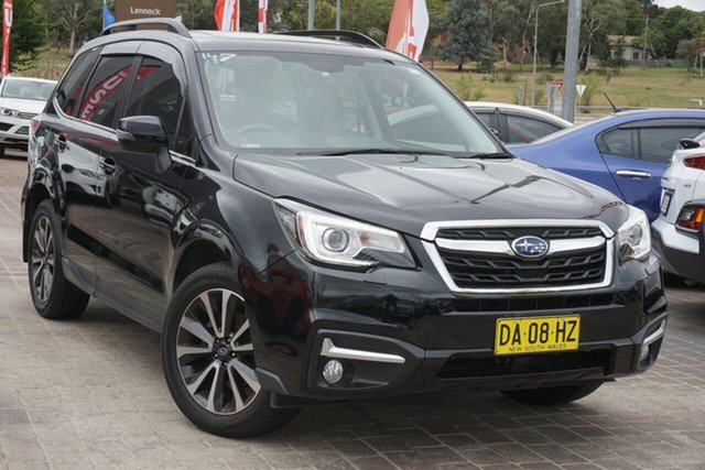 Used Subaru Forester S4 MY16 2.5i-S CVT AWD Phillip, 2016 Subaru Forester S4 MY16 2.5i-S CVT AWD Black 6 Speed Constant Variable Wagon
