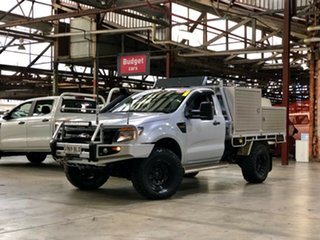 2012 Ford Ranger PX XL Silver 6 Speed Manual Cab Chassis.