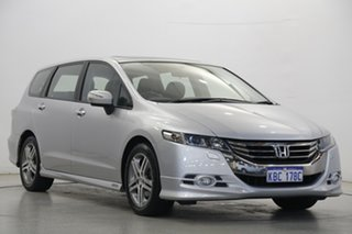 2012 Honda Odyssey 4th Gen MY12 Luxury Silver 5 Speed Sports Automatic Wagon