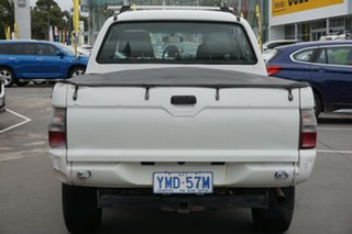2005 Mitsubishi Triton MK MY05 GL 4x2 White 5 Speed Manual Cab Chassis