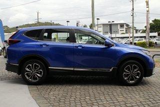 2020 Honda CR-V RW MY21 VTi 4WD L AWD Brilliant Sporty Blue 1 Speed Constant Variable Wagon.