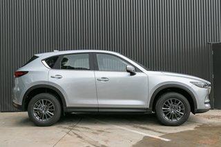 2021 Mazda CX-5 CX-5 K 6AUTO MAXX SPORT PETROL FWD Sonic Silver Wagon.