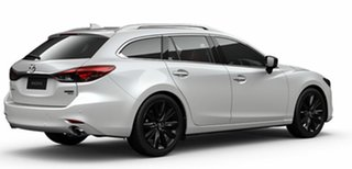 2021 Mazda 6 GL1033 GT SP SKYACTIV-Drive White Pearl 6 Speed Sports Automatic Wagon
