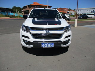 2018 Holden Colorado RG MY18 Z71 White 6 Speed Automatic Dual Cab.
