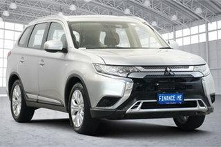 2019 Mitsubishi Outlander ZL MY19 ES AWD Silver 6 Speed Constant Variable Wagon.