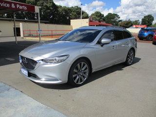 2018 Mazda 6 MY18 Atenza Silver Automatic Sportswagon.