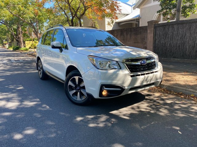 Pre-Owned Subaru Forester S4 MY18 2.0D-L CVT AWD Hawthorn, 2017 Subaru Forester S4 MY18 2.0D-L CVT AWD Crystal Pearl 7 Speed Constant Variable Wagon