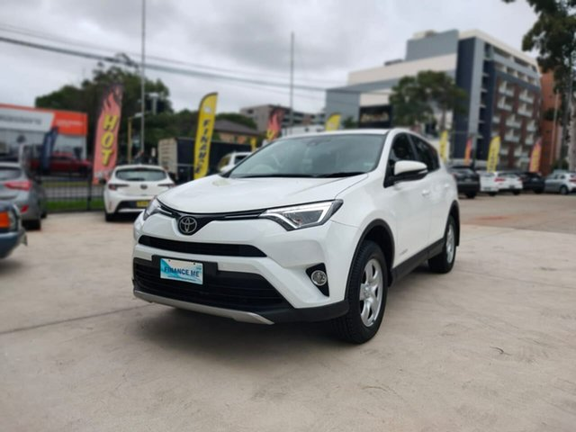Used Toyota RAV4 GX Goulburn, 2017 Toyota RAV4 GX White Sports Automatic Wagon