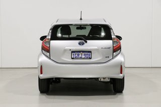 2018 Toyota Prius c NHP10R MY17 Hybrid Silver Continuous Variable Hatchback