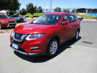 2017 Nissan X-Trail T32 ST Red Automatic Wagon.