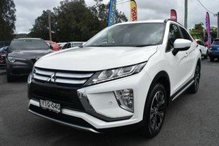 2017 Mitsubishi Eclipse Cross YA MY18 LS 2WD White 8 Speed Constant Variable Wagon