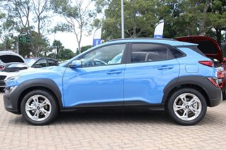 2021 Hyundai Kona Os.v4 MY21 Active 2WD Surfy Blue 8 Speed Constant Variable Wagon