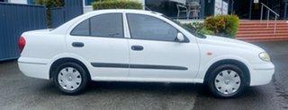 2004 Nissan Pulsar N16 S2 ST White 4 Speed Automatic Sedan.