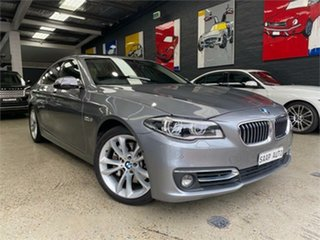2014 BMW 5 Series F10 LCI 535i Luxury Line Grey Sports Automatic Sedan.