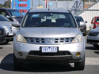 2007 Nissan Murano Z50 ST Silver Constant Variable Wagon.