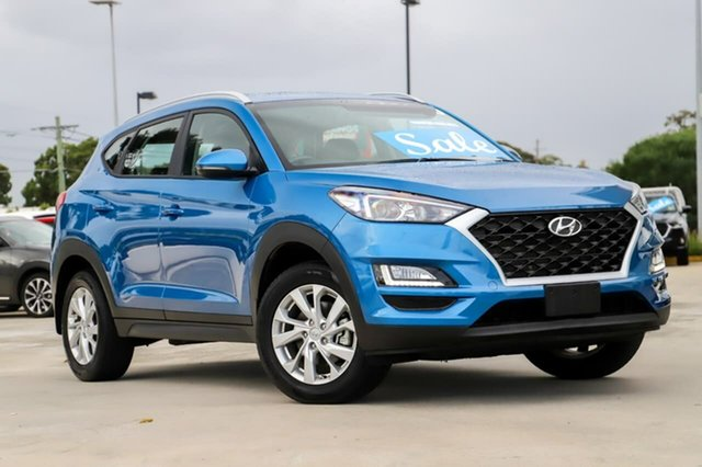 Used Hyundai Tucson TL3 MY19 Active X 2WD Kirrawee, 2019 Hyundai Tucson TL3 MY19 Active X 2WD Blue 6 Speed Automatic Wagon