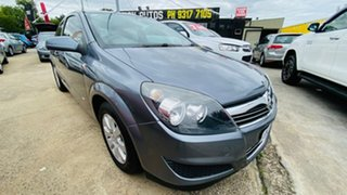 2007 Holden Astra AH MY07 CD Grey 4 Speed Automatic Coupe.