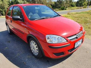 2005 Holden Barina XC Red Automatic Hatchback.