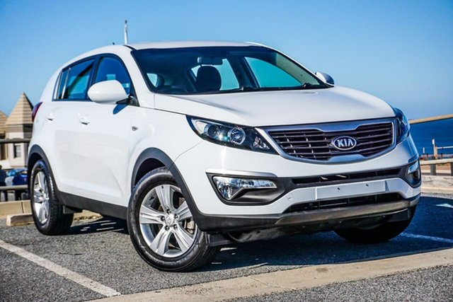 Used Kia Sportage SL MY13 SI Christies Beach, 2013 Kia Sportage SL MY13 SI White 6 Speed Sports Automatic Wagon