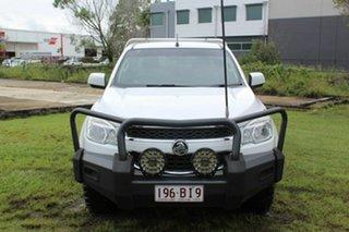 2012 Holden Colorado RG MY13 LX Crew Cab White 5 Speed Manual Utility.