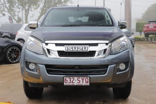 2013 Isuzu D-MAX MY12 LS Crew Cab 4x2 High Ride Grey 5 Speed Sports Automatic Utility.