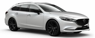 2021 Mazda 6 GL1033 GT SP SKYACTIV-Drive White Pearl 6 Speed Sports Automatic Wagon.