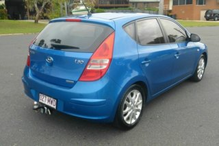 2010 Hyundai i30 FD MY10 SLX Blue 5 Speed Manual Hatchback.