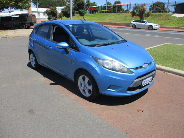 Used Ford Fiesta WS LX Katanning, 2009 Ford Fiesta WS LX Blue 5 Speed Manual Hatchback