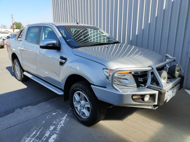 Used Ford Ranger PX XLT Double Cab Horsham, 2013 Ford Ranger PX XLT Double Cab 6 Speed Sports Automatic Utility