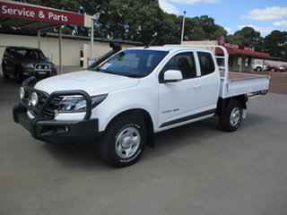 2017 Holden Colorado RG MY17 LS White 6 Speed Manual Spacecab.