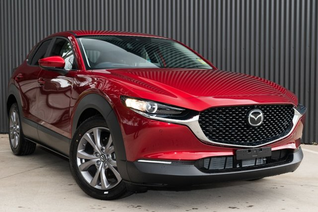 Demo Mazda CX-30 DM2W7A G20 SKYACTIV-Drive Touring Mornington, 2020 Mazda CX-30 DM2W7A G20 SKYACTIV-Drive Touring Soul Red Crystal 6 Speed Sports Automatic Wagon