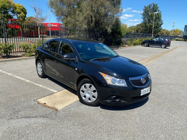 Used Holden Cruze JH Series II MY12 CD Mile End, 2011 Holden Cruze JH Series II MY12 CD Black 6 Speed Sports Automatic Sedan