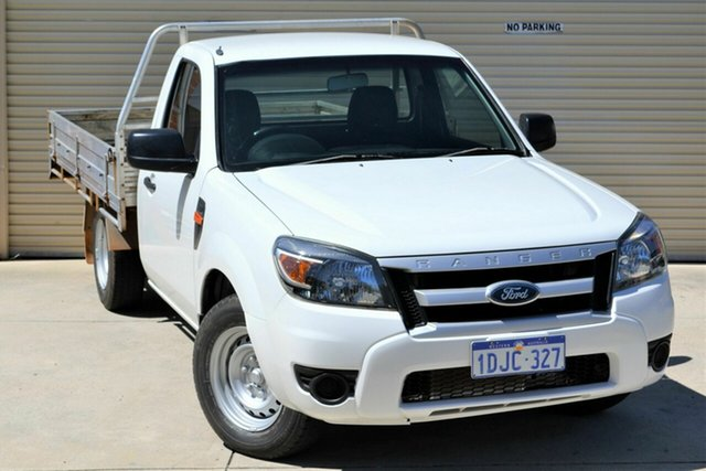 Used Ford Ranger PK XL Mount Lawley, 2010 Ford Ranger PK XL White 5 Speed Manual Cab Chassis