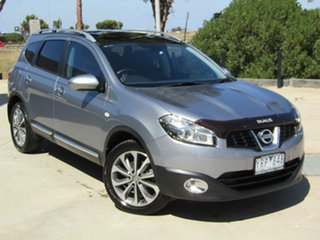 2011 Nissan Dualis J10 Series II MY2010 +2 Hatch X-tronic Ti Grey 6 Speed Constant Variable.