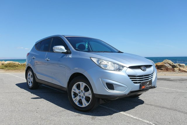 Used Hyundai ix35 LM2 Active Lonsdale, 2012 Hyundai ix35 LM2 Active Blue 5 Speed Manual Wagon