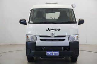 2018 Toyota HiAce KDH223R Commuter High Roof Super LWB White 5 Speed Manual Bus.