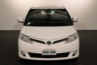 2016 Toyota Tarago ACR50R MY13 GLi White 7 speed Automatic Wagon.