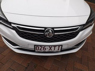 2016 Holden Astra BK MY17 RS White 6 Speed Manual Hatchback