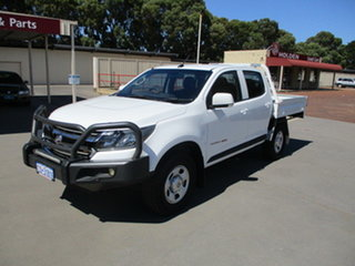 2017 Holden Colorado RG MY17 LS Abalone White 6 Speed Automatic Dual Cab.