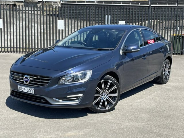 Used Volvo S60 F Series MY14 D4 Geartronic Luxury Newcastle, 2014 Volvo S60 F Series MY14 D4 Geartronic Luxury Blue 6 Speed Sports Automatic Sedan