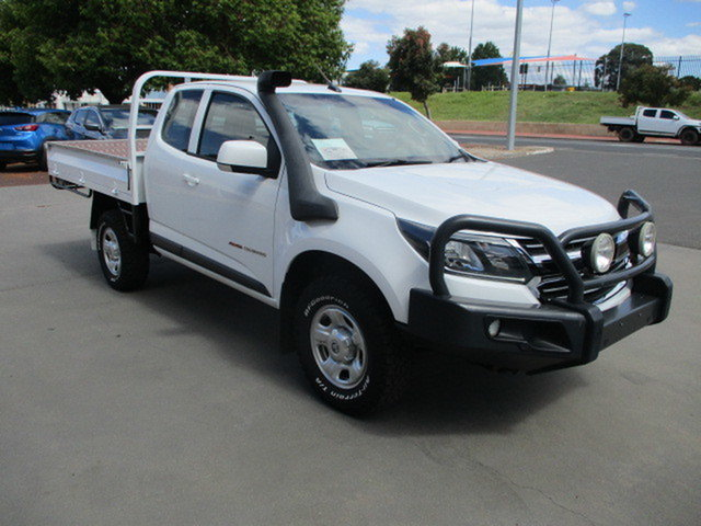 Used Holden Colorado RG MY17 LS Katanning, 2017 Holden Colorado RG MY17 LS White 6 Speed Manual Spacecab