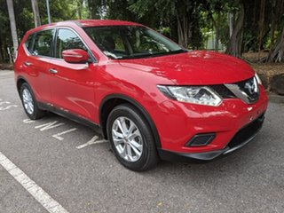 2016 Nissan X-Trail T32 ST X-tronic 2WD Red 7 Speed Constant Variable Wagon.