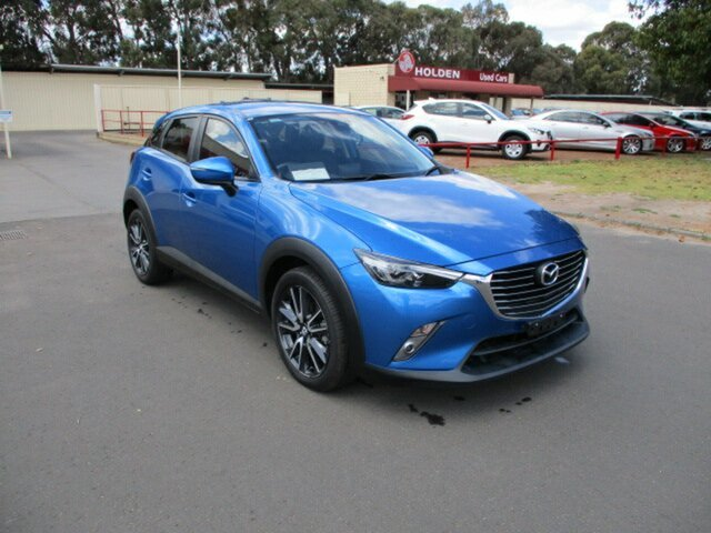 Used Mazda CX-3 DK2W7A sTouring SKYACTIV-Drive FWD Katanning, 2017 Mazda CX-3 DK2W7A sTouring SKYACTIV-Drive FWD Blue 6 Speed Automatic Wagon