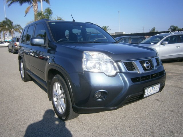 Used Nissan X-Trail T31 Series IV ST 2WD Cheltenham, 2012 Nissan X-Trail T31 Series IV ST 2WD Blue 1 Speed Constant Variable Wagon