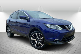 2016 Nissan Qashqai J11 TI Blue 1 Speed Constant Variable Wagon.